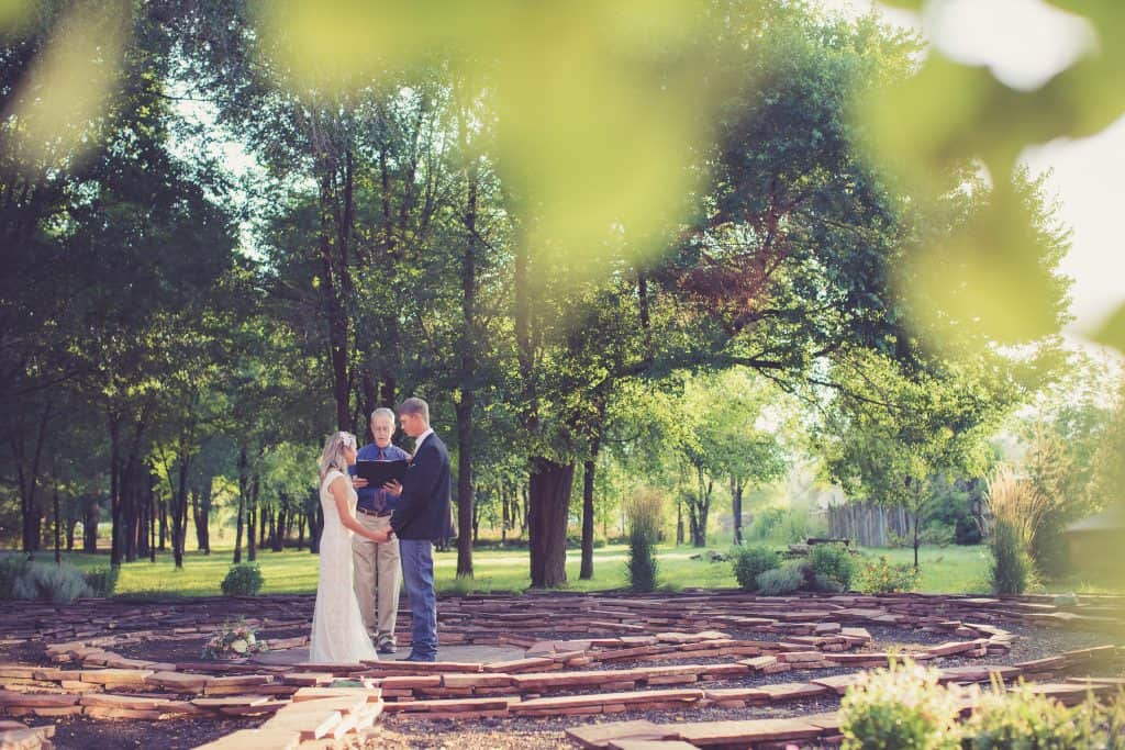 A Labyrinth elopement at the Adobe & Pines Inn