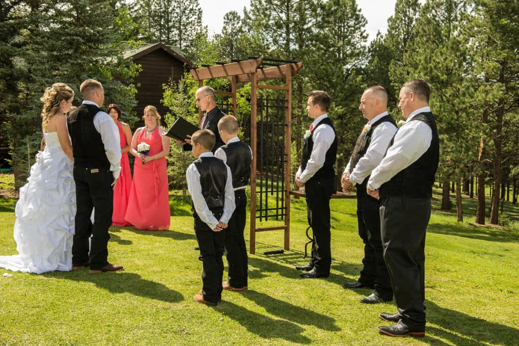 Mountain Weddings At Angel Fire Resort Offer Lushness And Views