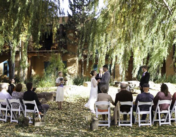 A wedding at El Monte