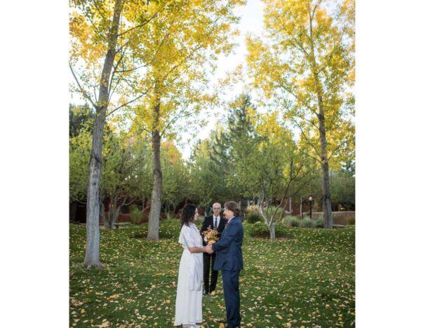 A wedding in the Sacred Circle at El Monte Sagrado