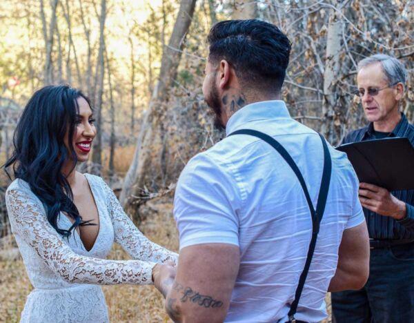 Wedding location El Nogal Campground