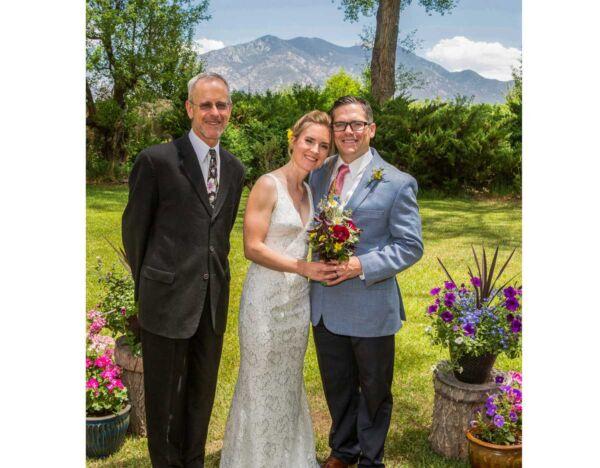 Wedding photo from Hacienda del Sol