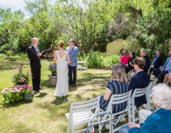 A wedding at Hacienda Del Sol