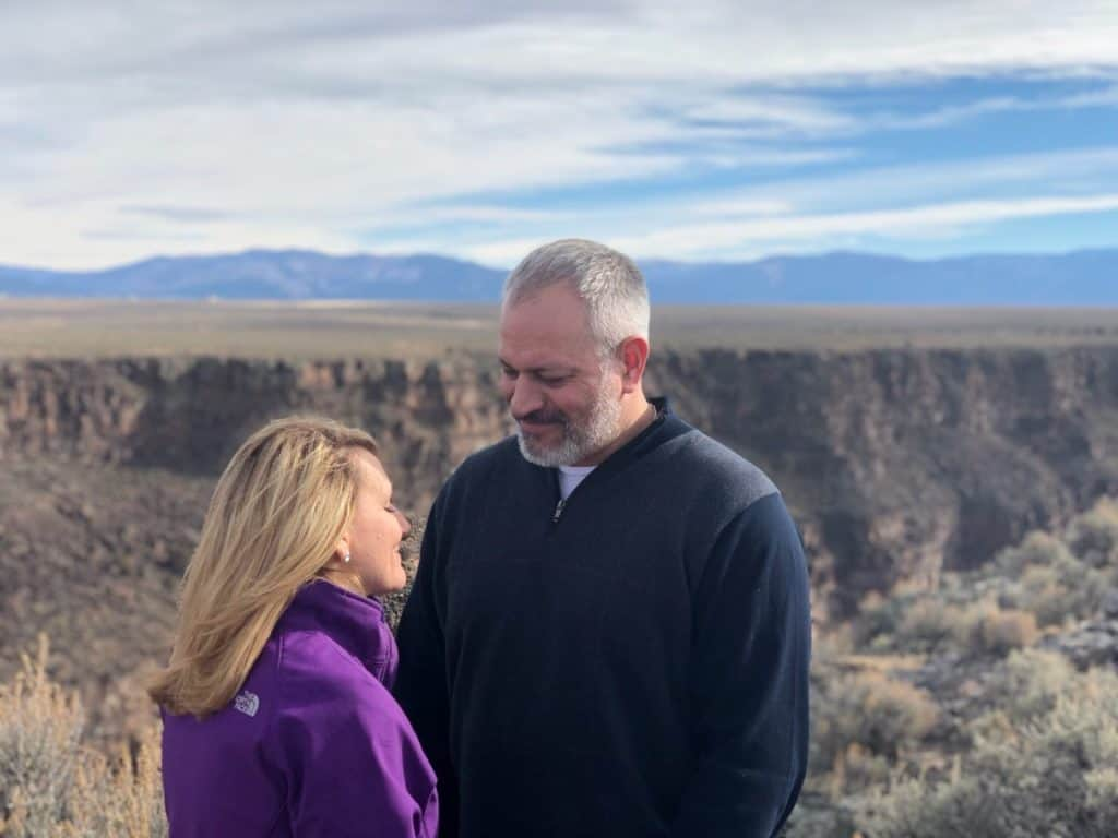 Rio Grande Gorge offers extraordinary views for intimate weddings in northern New Mexico