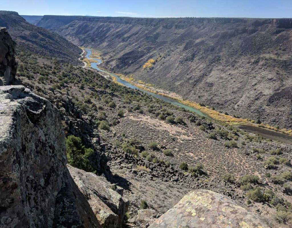 The Rio Hondo makes a great wedding photo backdrop