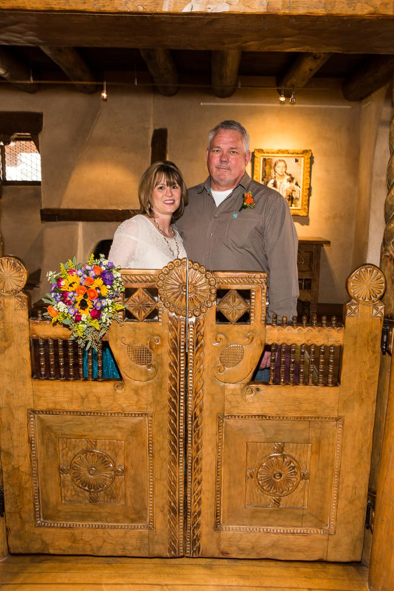 The Fechin House is know for its ornate wood carvings, which make perfect photo opportunities!